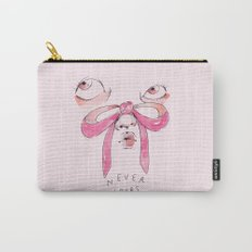 Never Yours Bows Carry-All Pouch