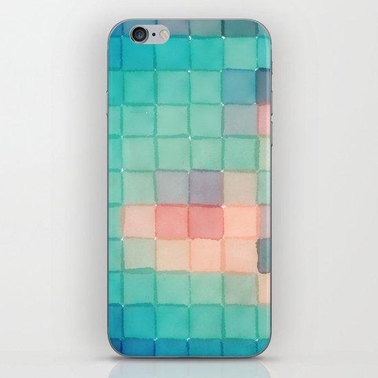 Polaroid Pixels VI (Crabapple) iPhone & iPod Skin