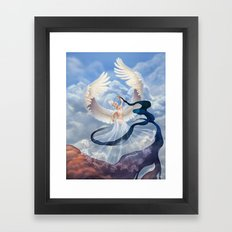 Summoning Dusk Framed Art Print