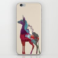 iPhone & iPod Skin featuring The Last Unicorn by Nellfoxface