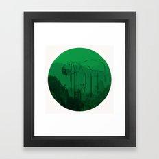 Leaving for heaven/下一站天国 Framed Art Print