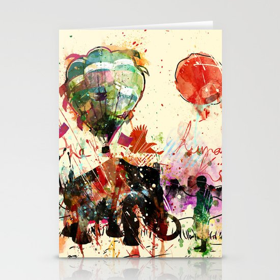 World as One : Human Kind Stationery Card
