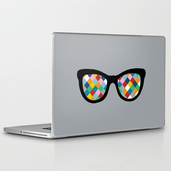 Diamond Eyes Laptop & iPad Skin