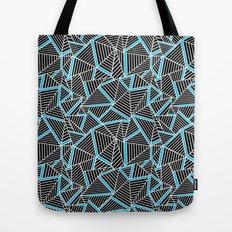 Ab 2 Repeat Blue Tote Bag