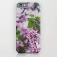 iPhone & iPod Case featuring Purple Spring by Hello Twiggs