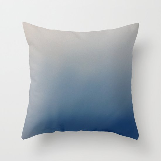 Minnehaha Blue Throw Pillow