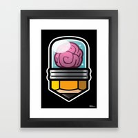 Brainpencil Framed Art Print