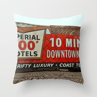 Imperial 400 Throw Pillow