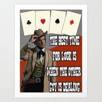 Poker Brothers - Beaureg… Art Print