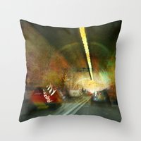 Dartford Tunnel 3 Throw Pillow