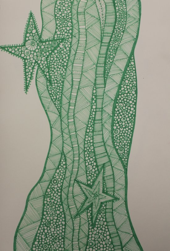 Star of wonder, star of night Art Print