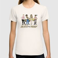 Sat. Morning Death Proof Womens Fitted Tee Natural SMALL