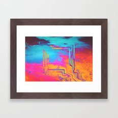 Running To The Sea. Framed Art Print