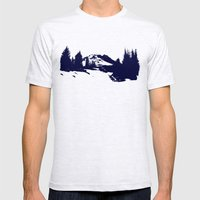 Mt. Hood Mens Fitted Tee Ash Grey SMALL