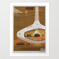 Art Print featuring ARCHINOWHERE 013_study by Federico Babina