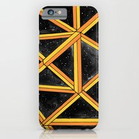 iPhone & iPod Case featuring geo galaxy by Betul Donmez