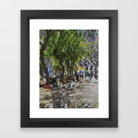 A balance between we and they but the as yet I, 06 Framed Art Print