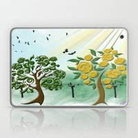 Peach tree Laptop & iPad Skin