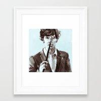 The Consultant Framed Art Print