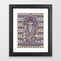 Buddhao4 Framed Art Print