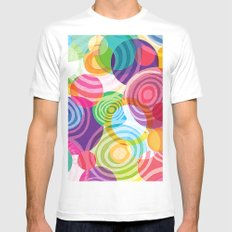 Circle-licious Sweetie SMALL Mens Fitted Tee White