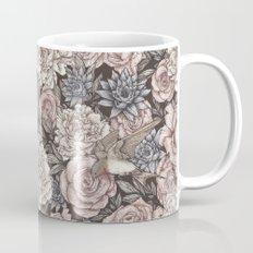 Flowers & Swallows Mug