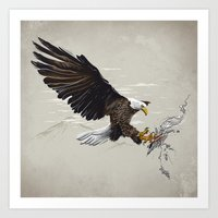 Air Fighter Art Print