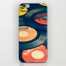 Take those old records off the shelf iPhone & iPod Skin