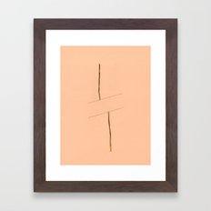 Linear Nature 2 Framed Art Print
