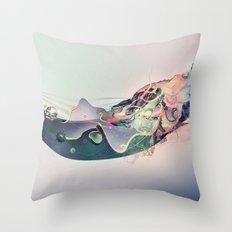 Organic Panic Throw Pillow