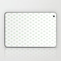 Green Spotty Pattern  Laptop & iPad Skin