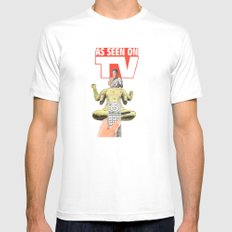 Could It Be True ? Mens Fitted Tee SMALL White