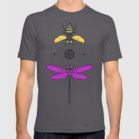 Two Insects Mens Fitted Tee Asphalt SMALL