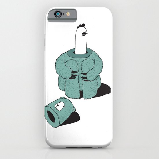 Chicken-Bear iPhone & iPod Case