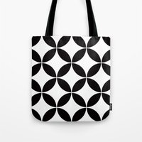 Geometric pattern (circles) Tote Bag