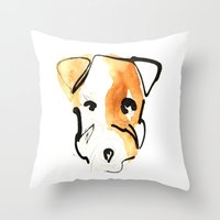 Jack Russell Throw Pillow