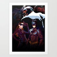 The Darkest Night Art Print