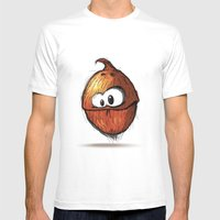 COCONUT | COCO Mens Fitted Tee White SMALL