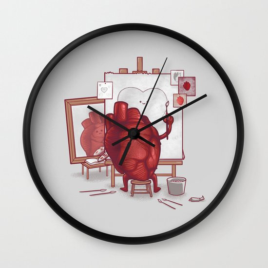 Self Portrait Wall Clock