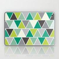 Triangulum - Emerald Laptop & iPad Skin