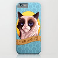 iPhone & iPod Case featuring Grumpy Cat by joogz