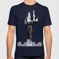 Look To Your Orb Mens Fitted Tee Navy SMALL
