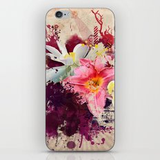 Country Floral iPhone & iPod Skin