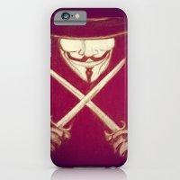 V for Vendetta4 iPhone 6 Slim Case