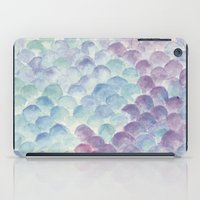 purple scales iPad Case