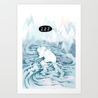 Good sleep Art Print