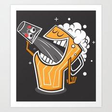 Drinking Buddies Art Print