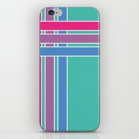Step in Line iPhone & iPod Skin