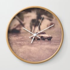 Julians Journey 6 | in the midst of the storm Wall Clock