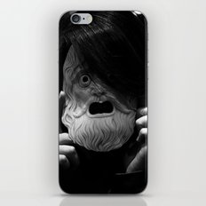 Masked Figure  iPhone & iPod Skin